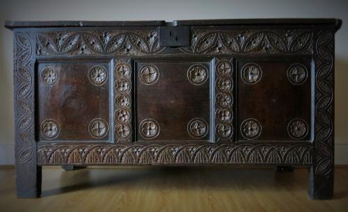 Early 17th Century Joyned Chest