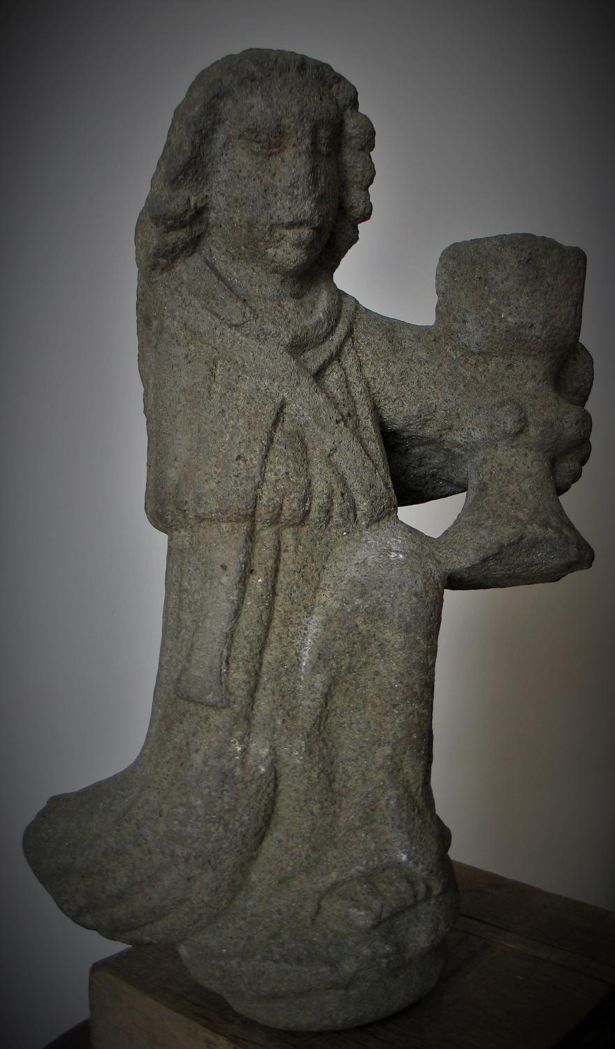 Late Medieval Stone Sculpture. Angel - Archive