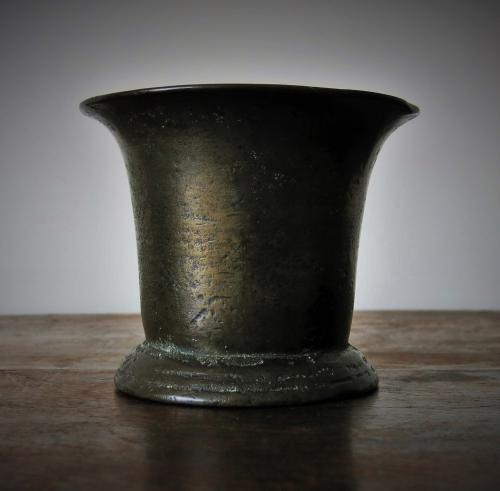 17th Century English Bronze Mortar