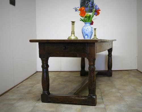 17th Century Oak Refectory Farmhouse Table