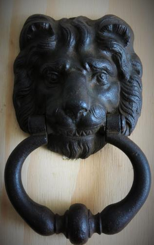 19th Century Cast Lion