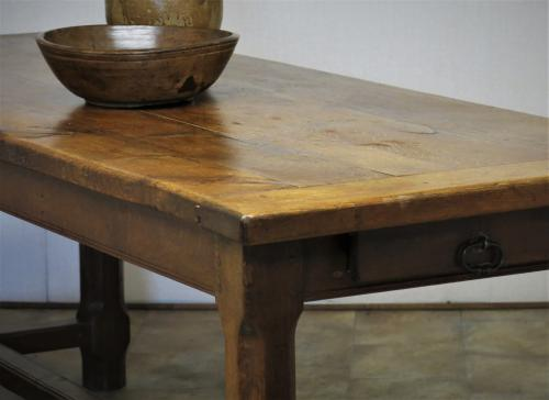 19th Century Oak Farmhouse Table