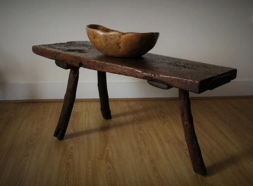19th Century Welsh Pig Bench