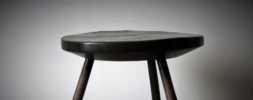 Burr Elm Primitive Table
