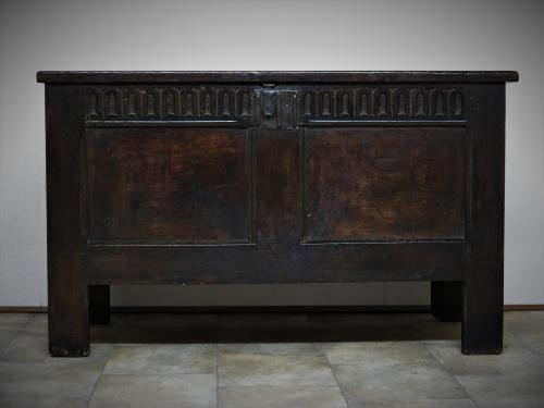 Charles Ist Oak Joyned Chest