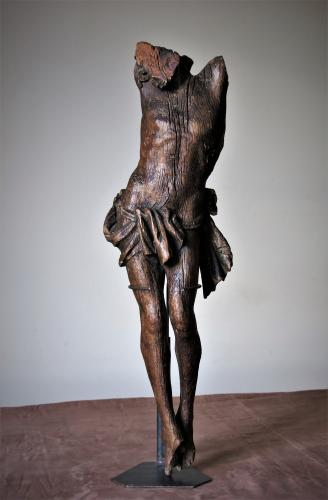 Christ Wood Sculpture XVI