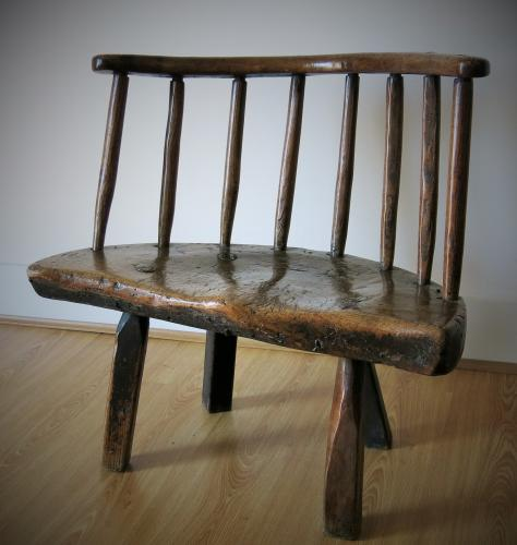 Chunky Welsh Low Back Chair