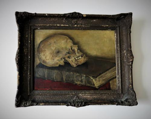 Dutch Vanitas Oil on Canvas 20thC