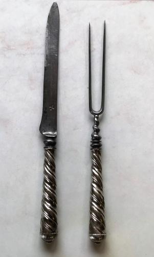 Early 18th Century Knife & Fork