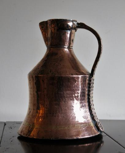 Early 19th Century Large Copper Pitcher / Flagon