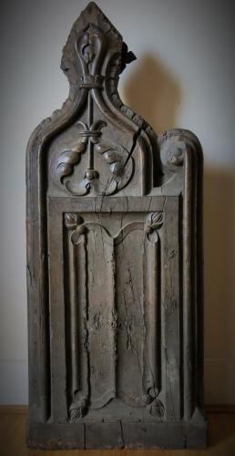 Early Tudor Bench End Henry Vlll