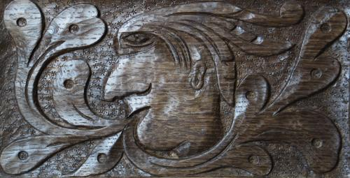 English Oak Green Man
