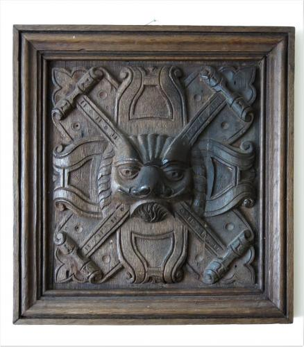 English Oak Panel Late 16th / 17th Century