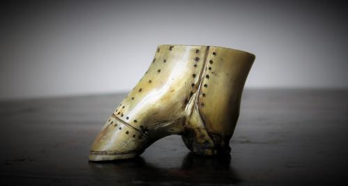 Folk Art Horn Boot