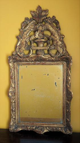 French Provincial Hall Mirror XVIII th.