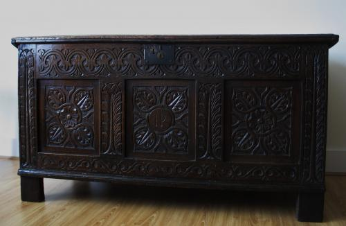 Gloucestershire Oak Chest
