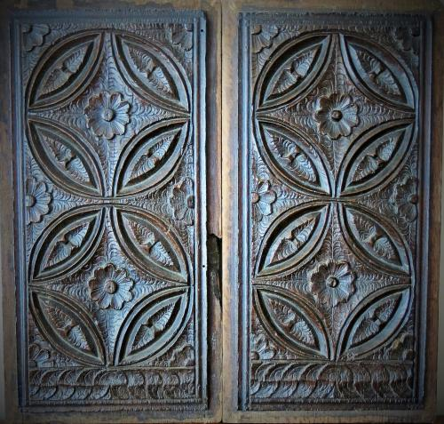 Gothic Oak Tracery Panels 16th Century