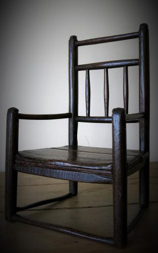 L18th Century Miniature Turners Chair