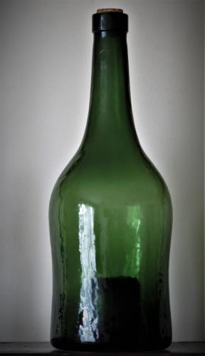 Large French Wine Bottle Late 19th Century