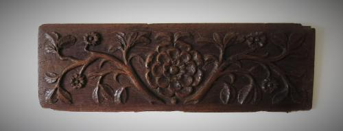 Large Late 16th Century French Foliage Panel