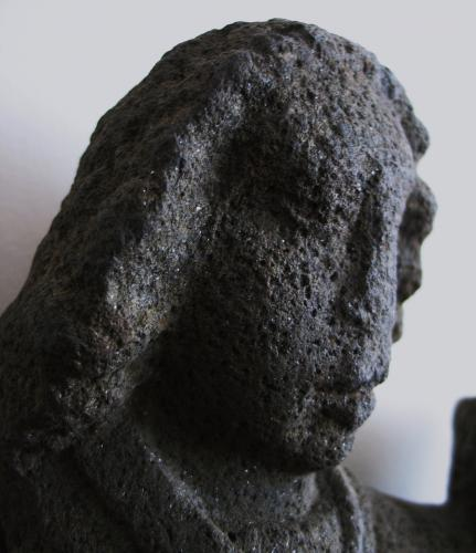 Late Medieval Stone Sculpture. Angel