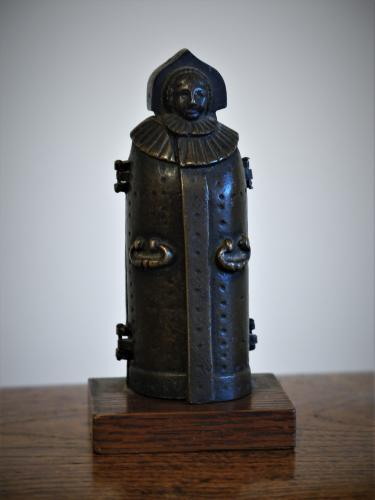 Miniature Bronze Cast Iron Maiden C1880 -- C1920