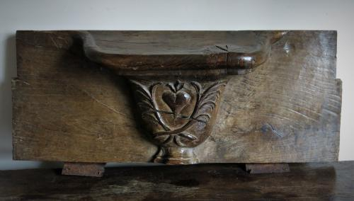 Oak Misericord C 1600s
