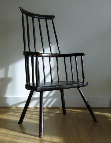 Primitive Comb Back Chair