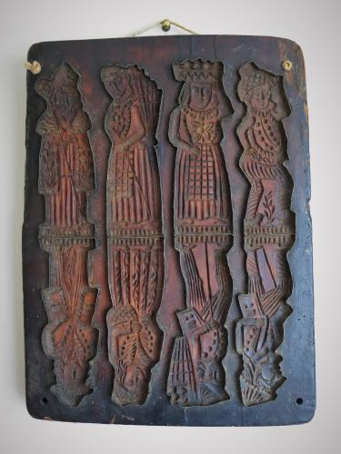Rare 17th Century German Biscuit Mould