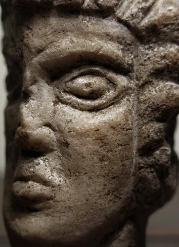 Stone Head of A Man 1400s