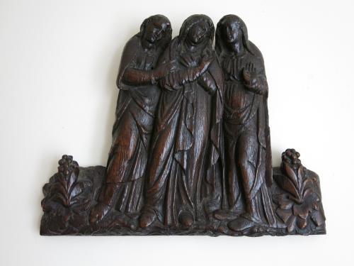 Three Figures Forming A Lamentation