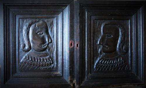Tudor Portrait Panels 1550
