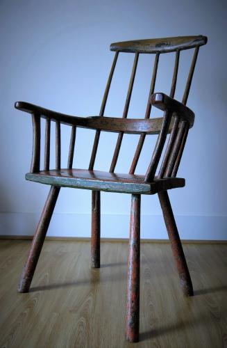 Welsh Comb back Arm Chair