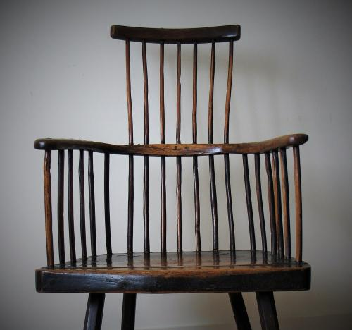 Welsh Primitive Comb back Chair