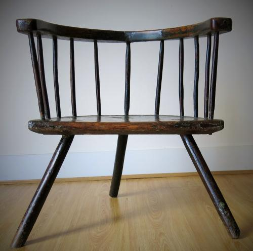 Welsh Primitive Low back Chair