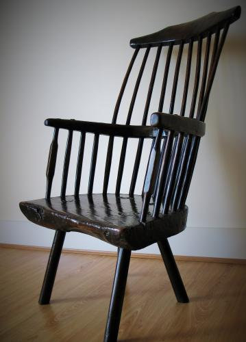 Welsh Sycamore Primitive Chair