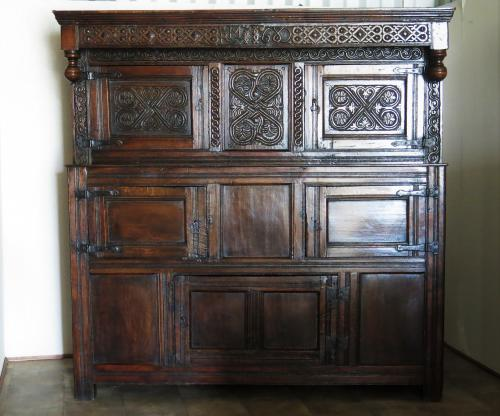 Westmoreland Dated Oak Cupboard