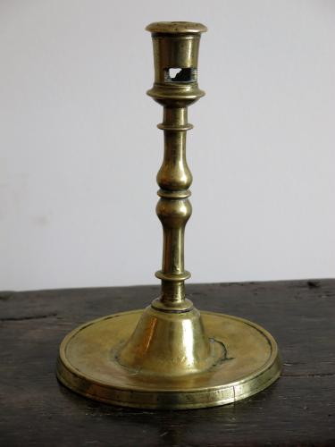 XV-XVIth Century Copper Alloy Candlestick